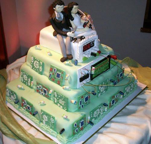bolo nerd casamento