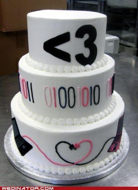 casamento nerd geek bolo