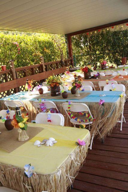 decoração festa havaiana ideias