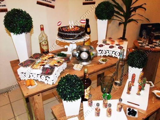 decoração festa rustica