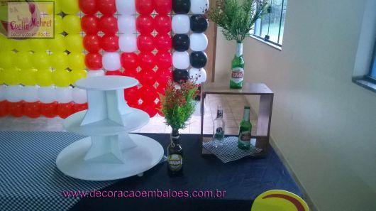 festa boteco simples como decorar
