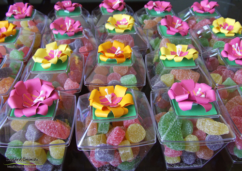 festa havaiana lembranças