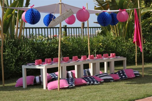 ideias pool party