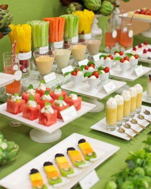 mesa fina festa havaiana