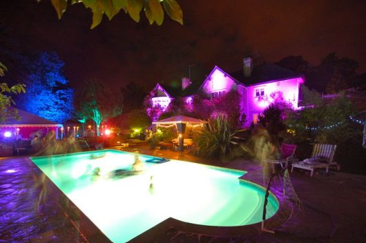 pool party a noite