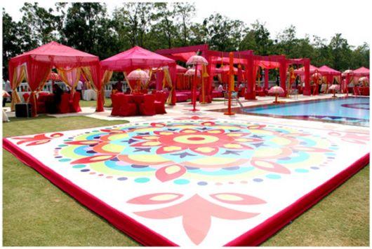 tema festa na piscina