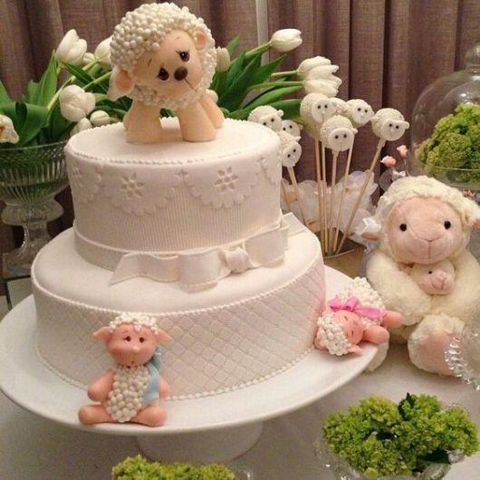 decoração com ovelha