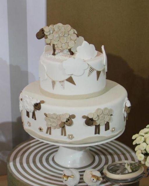 bolo com ovelha