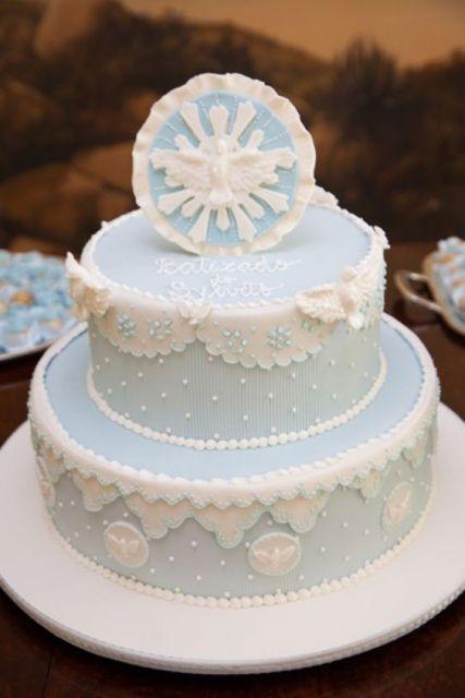 modelo azul e branco
