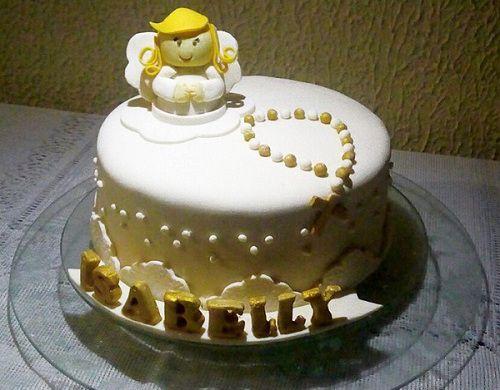 bolo simples com terço