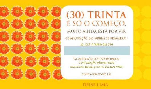 Festa De 30 Anos Decoração Temas E De 50 Ideias