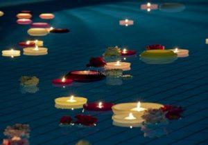 festa-luau-decoracao-piscina