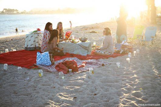 festa-luau-praia-como-fazer