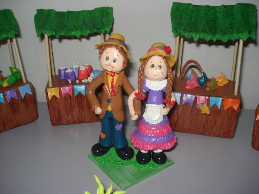 lembrancinhas de festa junina modelos de biscuit