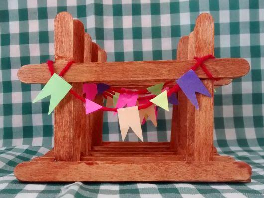 lembrancinhas de festa junina porta guardanapo
