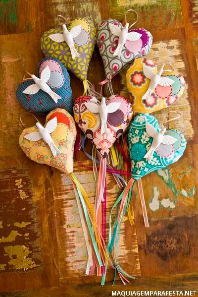 lembrancinhas de festa junina com pirulito de tecido