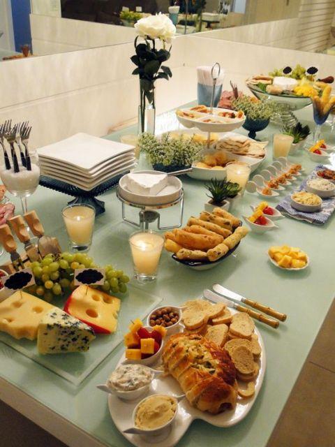 Mesa de frios para festa c lculo de quantidade dicas e for Utensilios para servir comida