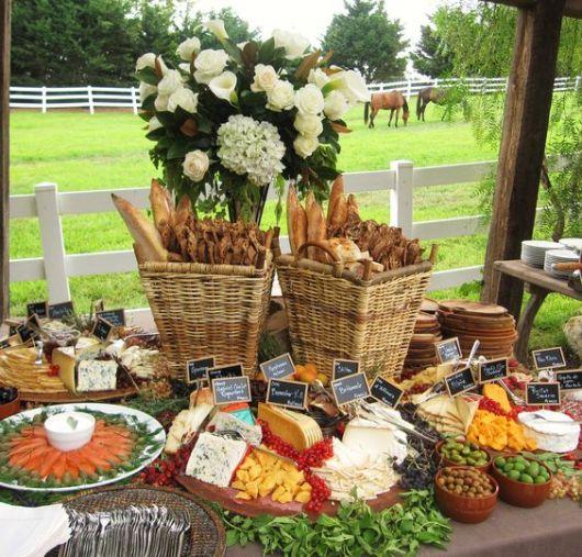 mesa para festa de dia