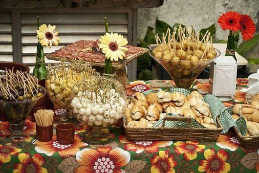 mesa festa barzinho