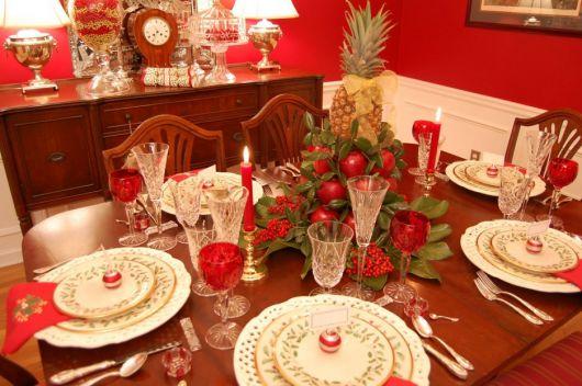 mesa de frutas jantar romantico