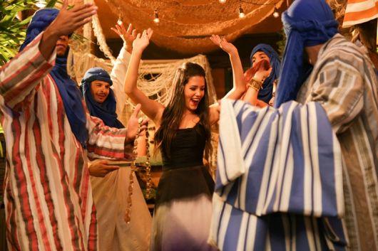 Festa Árabe animada