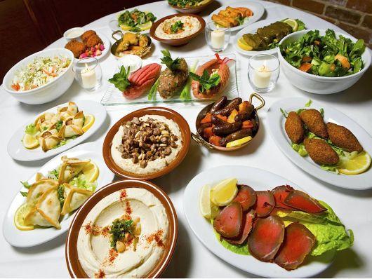 Festa Árabe cardapio