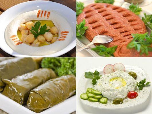 Festa Árabe comida