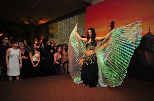 Festa Árabe dança