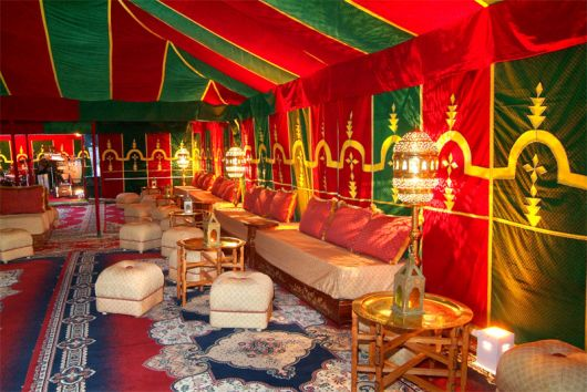 Festa Árabe decor