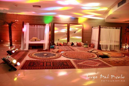 Festa Árabe decoração legaç