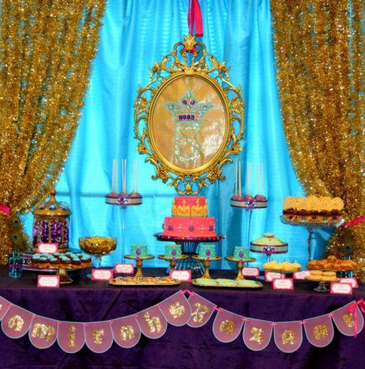 Festa Árabe mesa