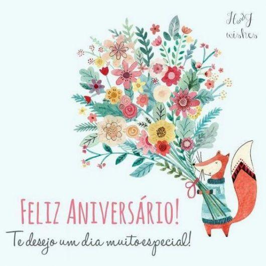 Flores Para Aniversário Grátis: 37 Ideias De Mensagens Bonitas