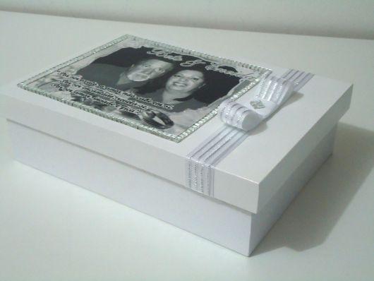 Presente para Bodas de Prata album de foto