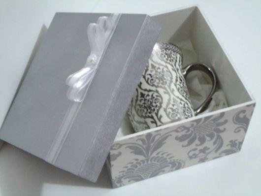 Presente para Bodas de Prata caneca personalizada