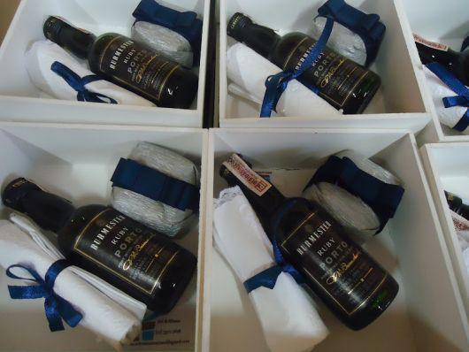 Presente para Bodas de Prata vinho