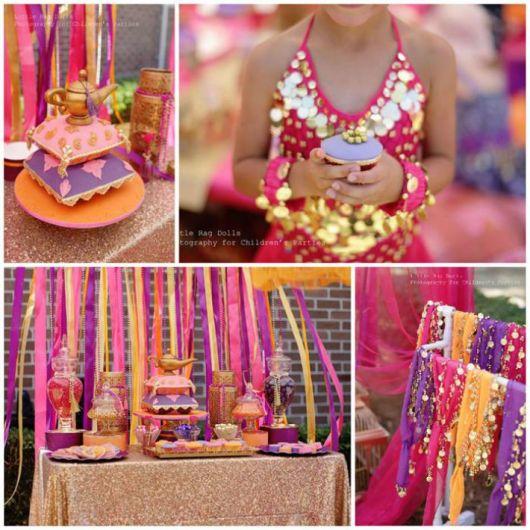 festa árabe decoração 1