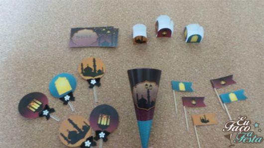 festa árabe decoração 5