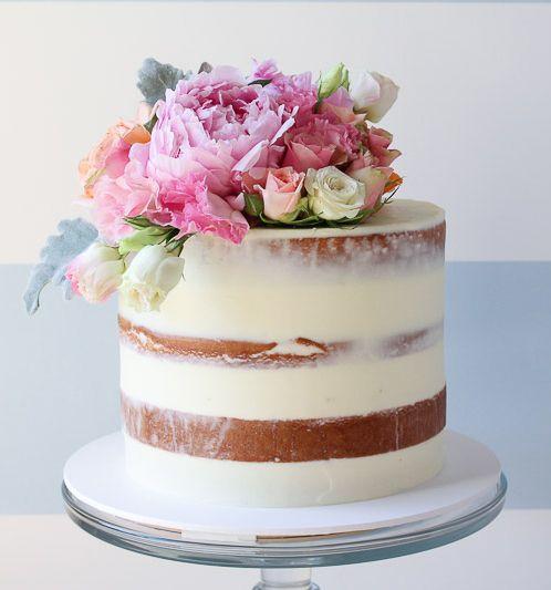 bolo com flores naturais 2