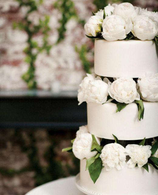 bolo com flores naturais 7
