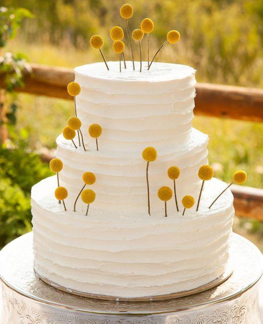 bolo com flores naturais 9