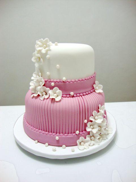 bolo com flores pasta americana 3