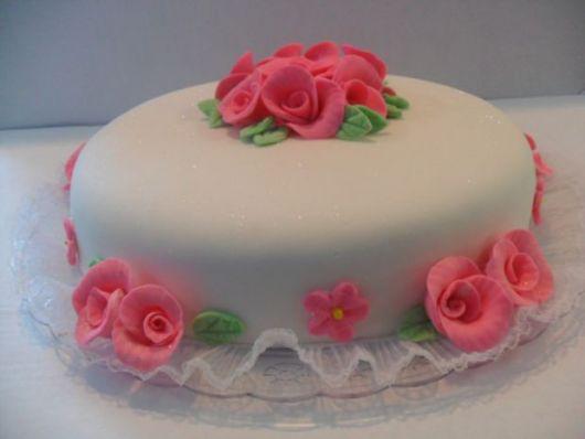 bolo com flores pasta americana 7
