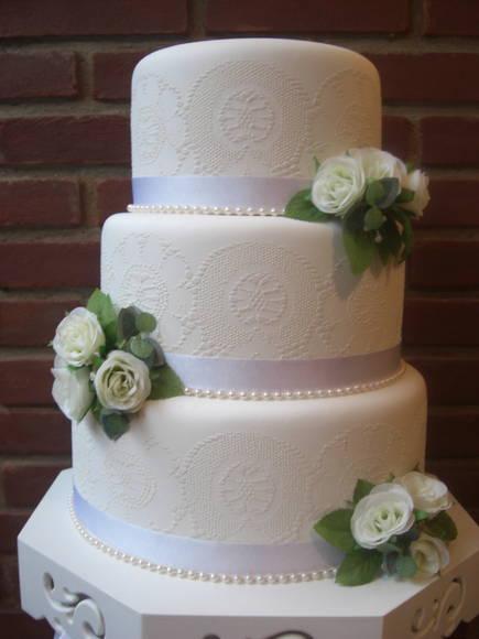 bolo fake com flores 3