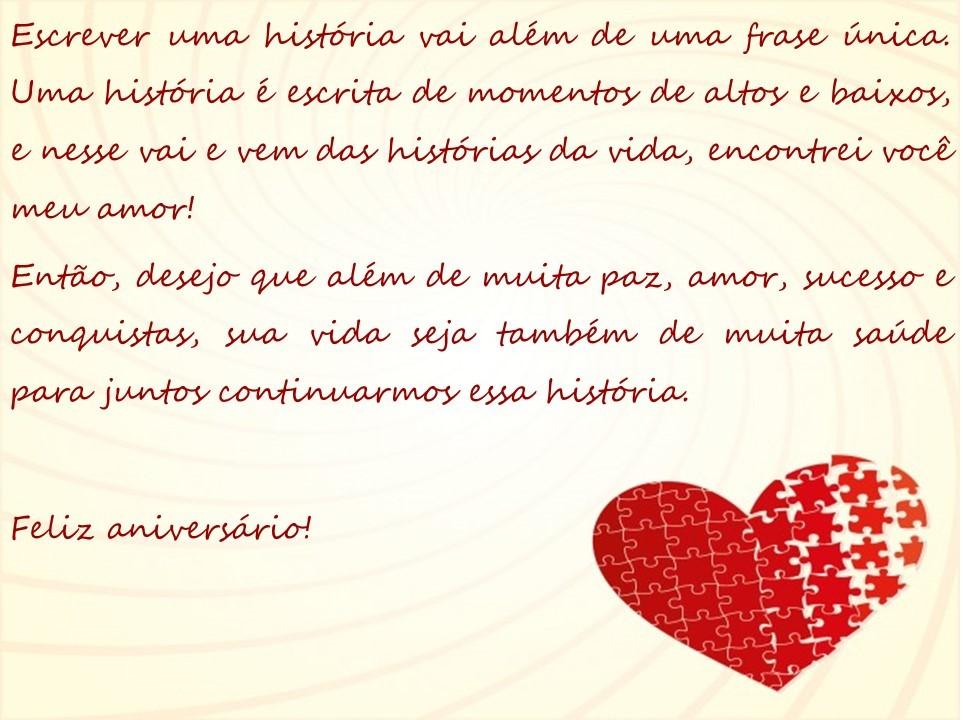 Frases De Aniversario Para Um Amor