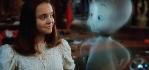 Printscreen de cena do filme Gasparzinho, o Fantasminha Camarada.