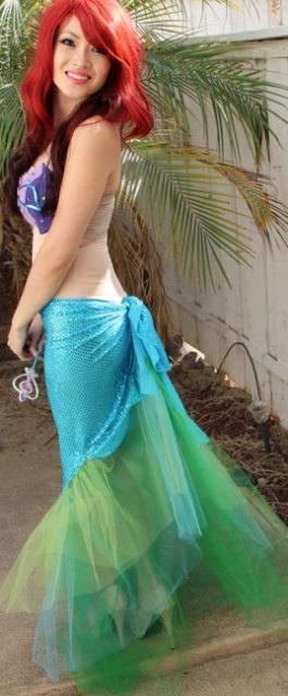 fantasia simples Ariel
