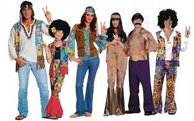 Peças com estampas ou lisas podem criar uma fantasia hippie