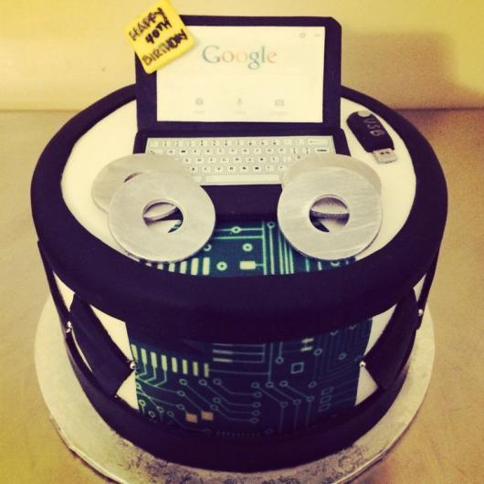 festa geek bolo tecnologia