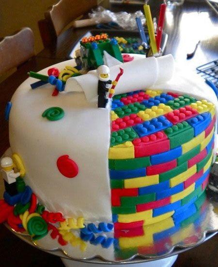 festa geek bolo decorado lego