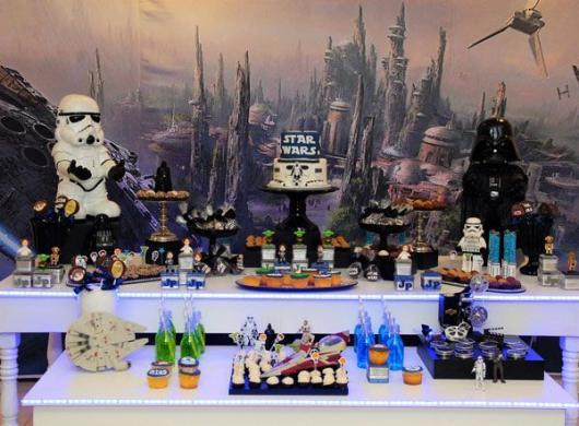 festa geek para adulto star wars